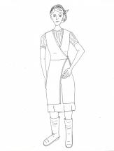 Farm - Linda Costume (BW)
