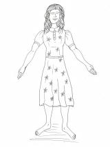 Traeth - Linda Costume (BW)