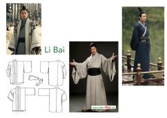 Li Bai moodboard