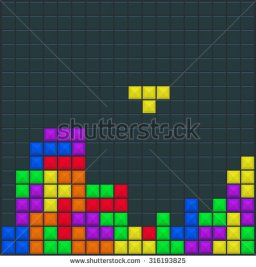 stock-vector-old-video-game-square-template-brick-pieces-game-background-vector-illustration-316193825